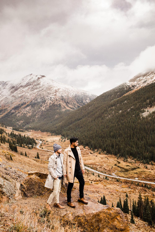 Independence Pass Rocky Mountain elopements | Best wedding photographers near Aspen