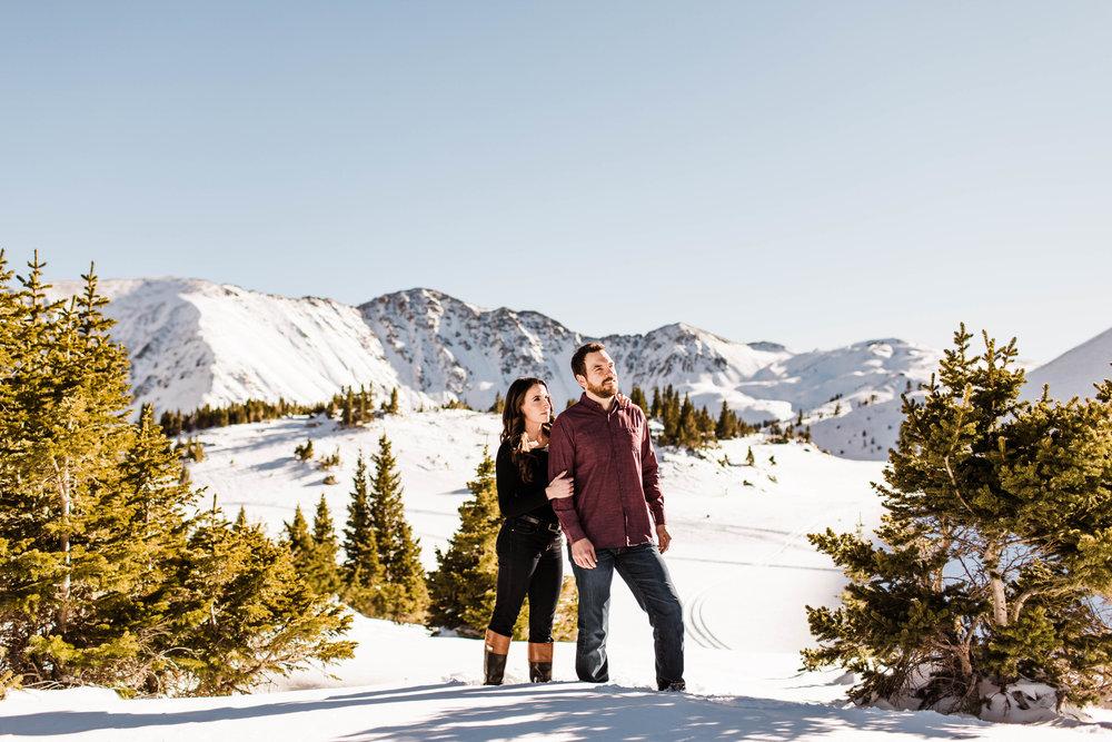 Dillon Colorado Adventure Session Engagement Session | Colorado Elopement Photographer