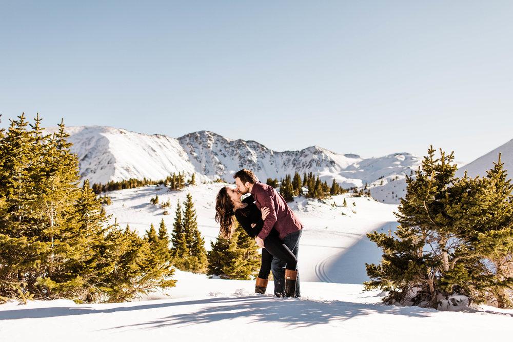 Dillon Colorado Adventure Session Engagement Session | Best Colorado Elopement Photographer