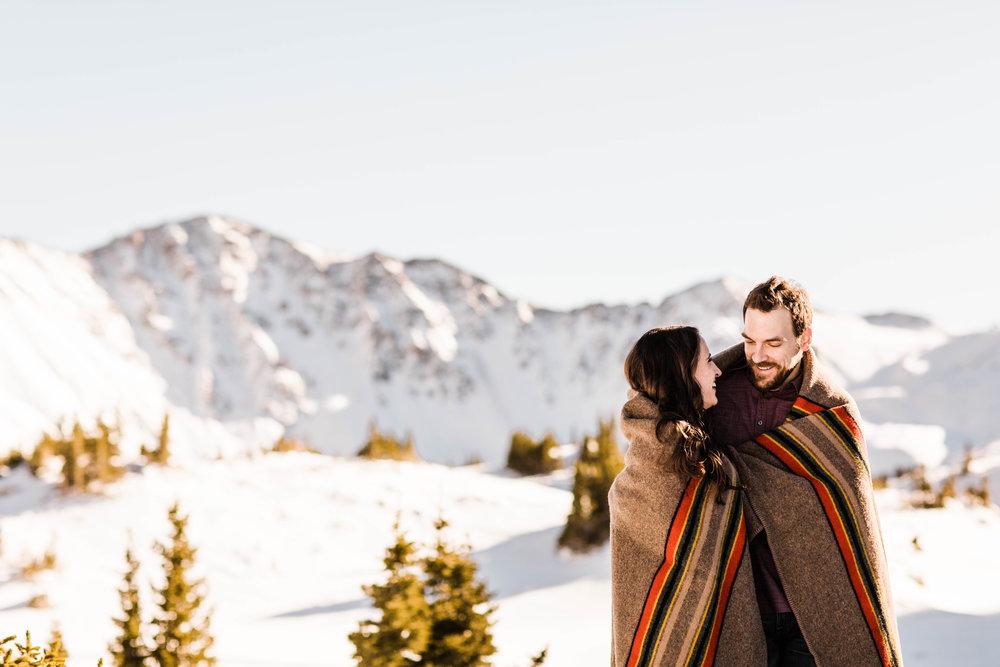 Dillon Colorado Adventure Session Engagement Session | Top Colorado Elopement Photographer