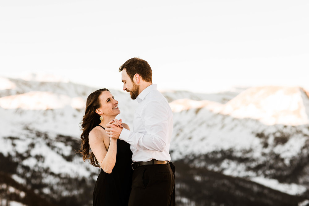 Dancing in the Rocky Mountains | Colorado Elopement Photography