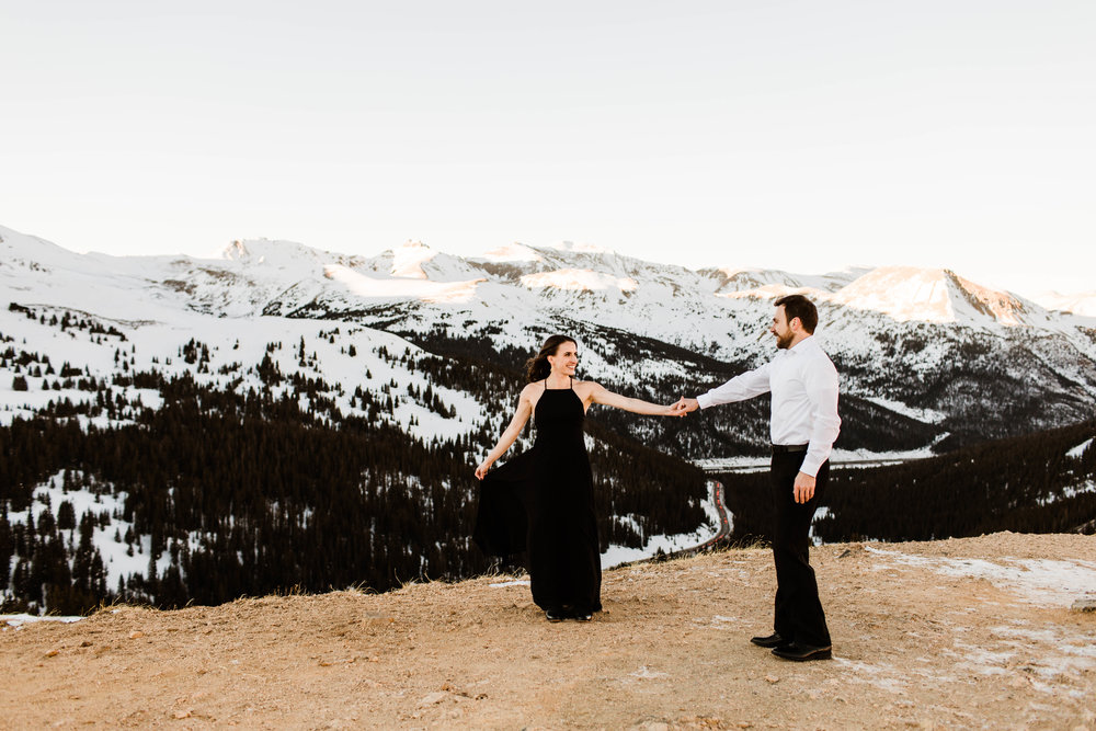 Slow dancing in the Rocky Mountains | Colorado Elopement Photography