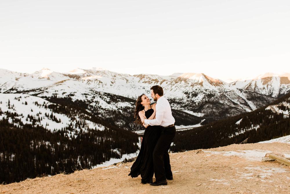 Adventurous Rocky Mountain Elopement Photography