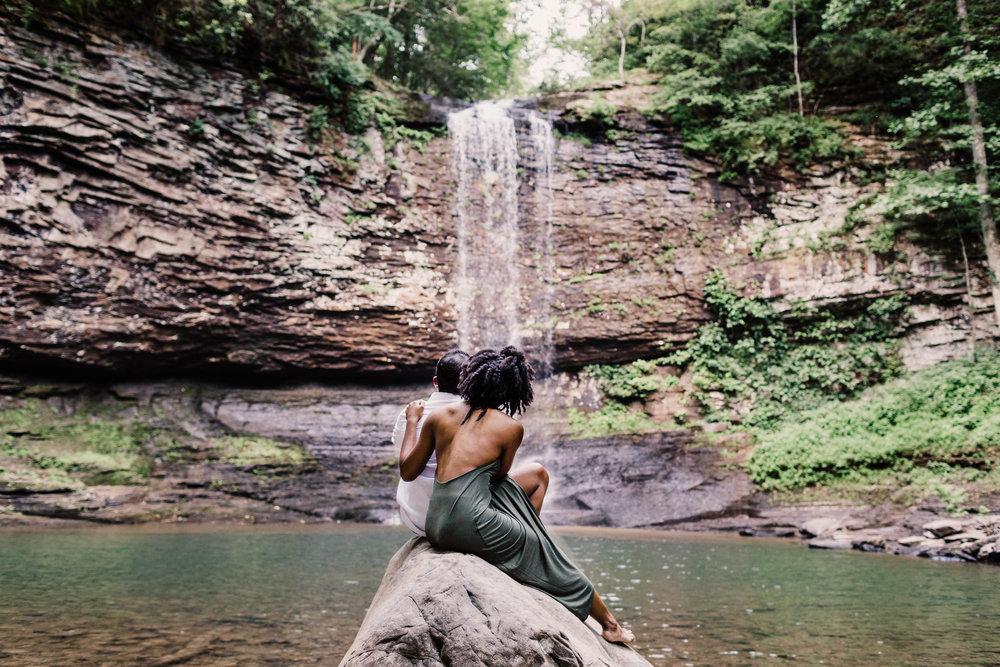 North Carolina Waterfall Adventure Session | North Carolina Elopement Photographer 1
