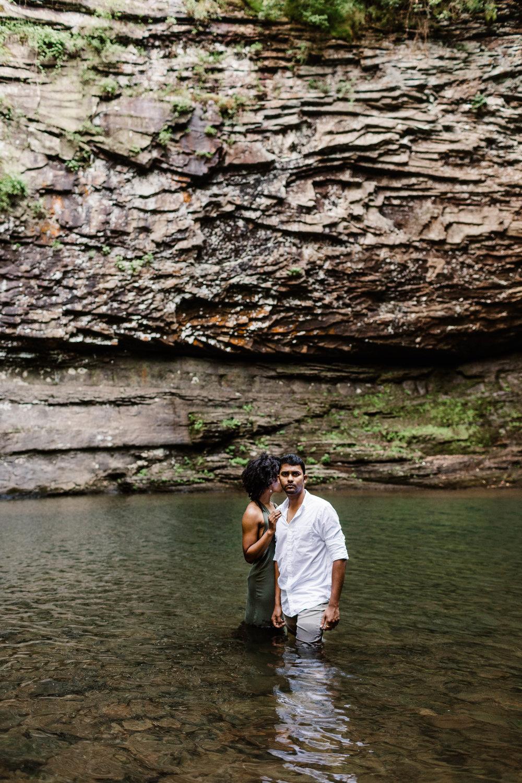 Swimming Adventure Session | Atlanta Elopement Photographer 1