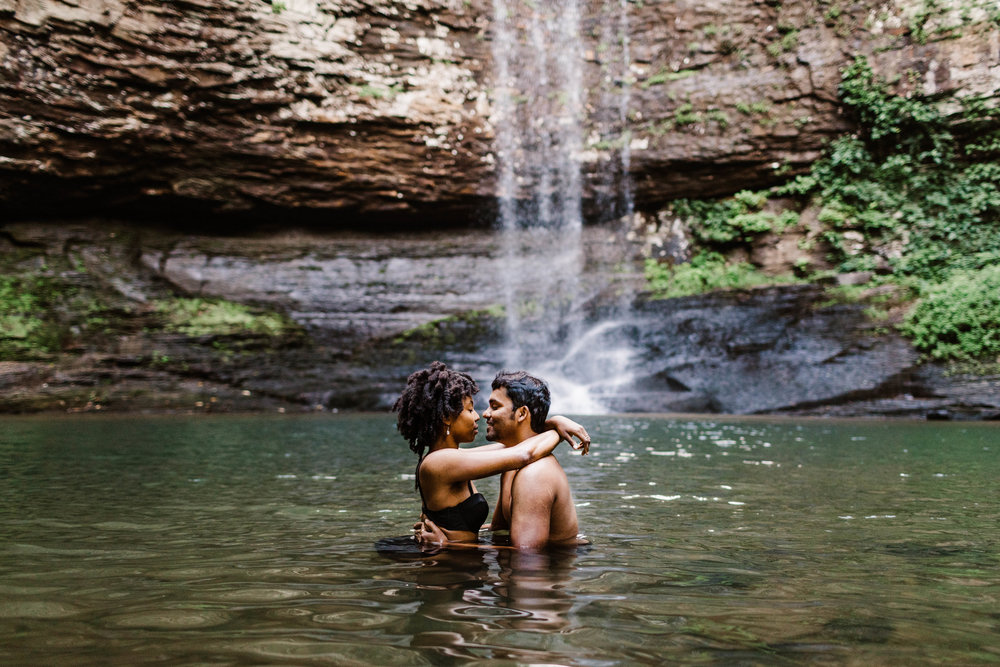 Steamy Lake Engagement Session | Best Asheville North Carolina Elopement Photographer 1