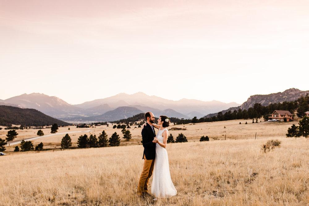 Adventure Elopement Photographer | Colorado Mountain Elopement in Estes Park