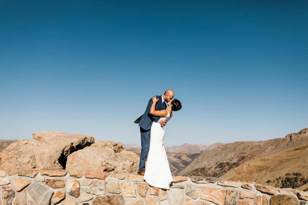 Colorado mountain wedding photos | Adventure wedding photographers | Best Colorado wedding photographers