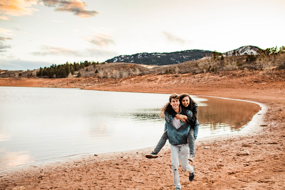 adventure session in the Rocky Mountains of northern Colorado | best Fort Collins wedding photographers