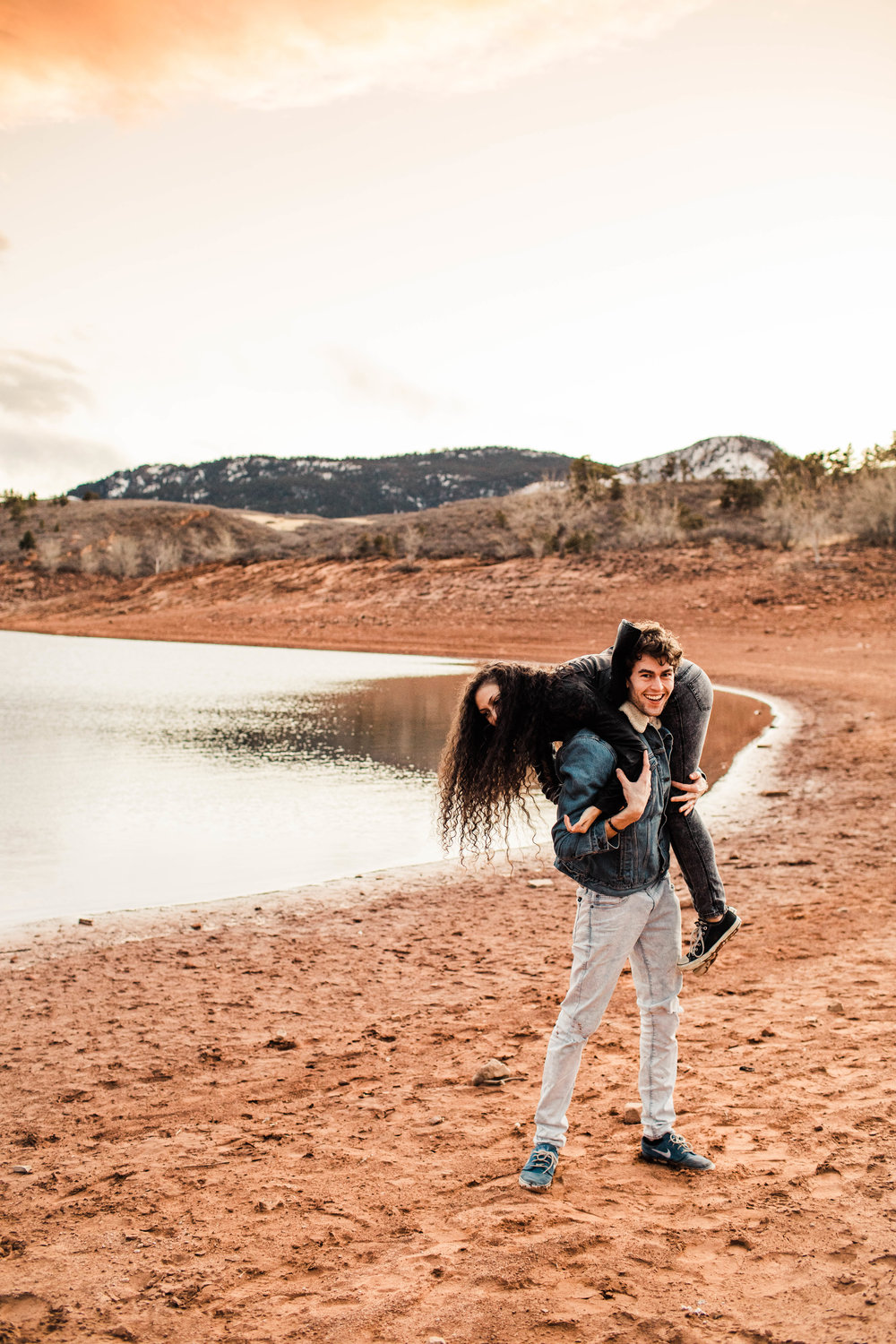 adventure session in the Rocky Mountains of northern Colorado | best Fort Collins elopement photographers
