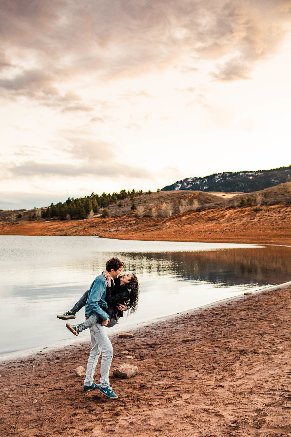 Rocky Mountain engagement photos | Top Fort Collins wedding photographers