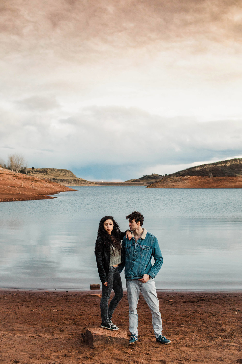 Rocky Mountain engagement session in Colorado | Fort Collins wedding photographers