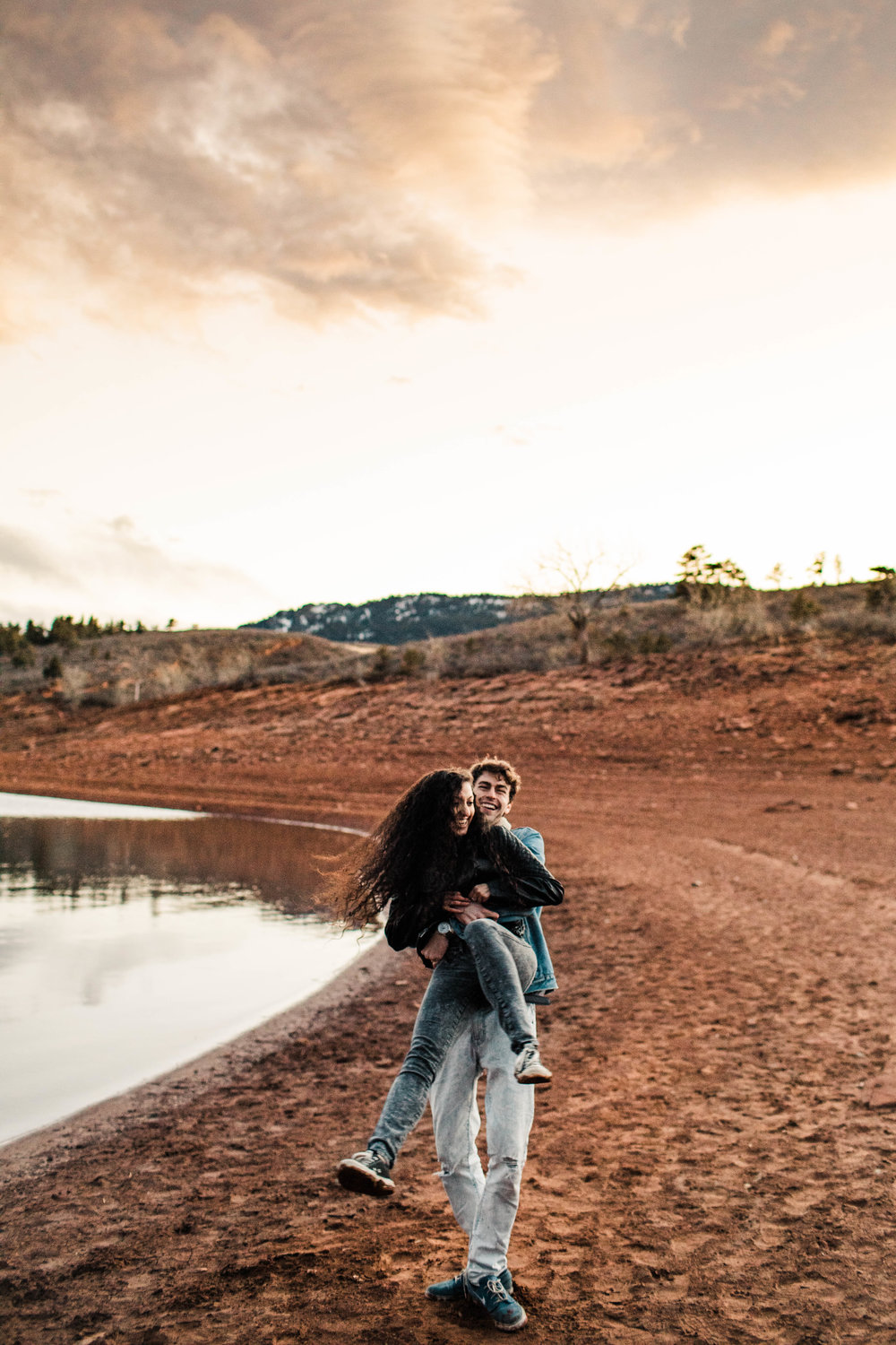 mountain adventure session in the Colorado Rockies | Fort Collins wedding photographers
