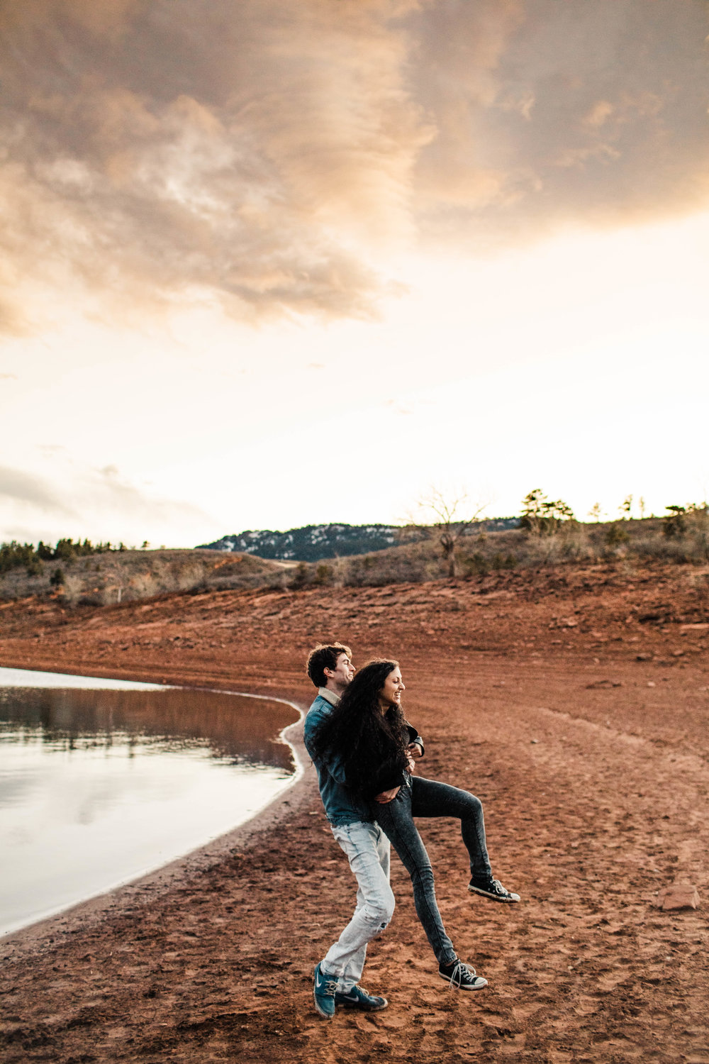 Rocky Mountain adventure session in Fort Collins Colorado | Fort Collins wedding photographers