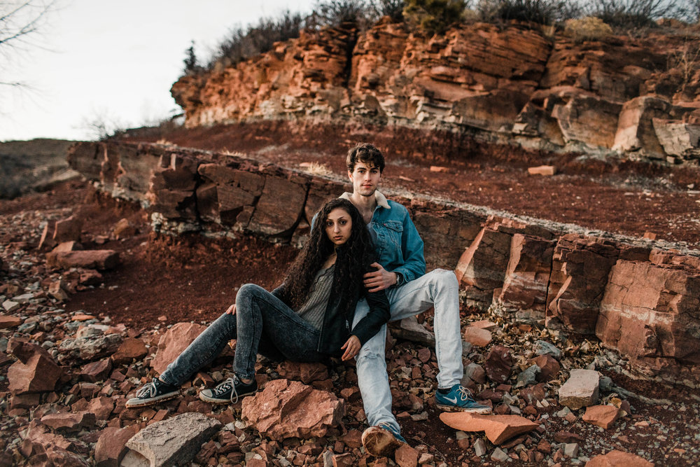 Fort Collins adventure session in the Rocky Mountains | Fort Collins wedding photographers