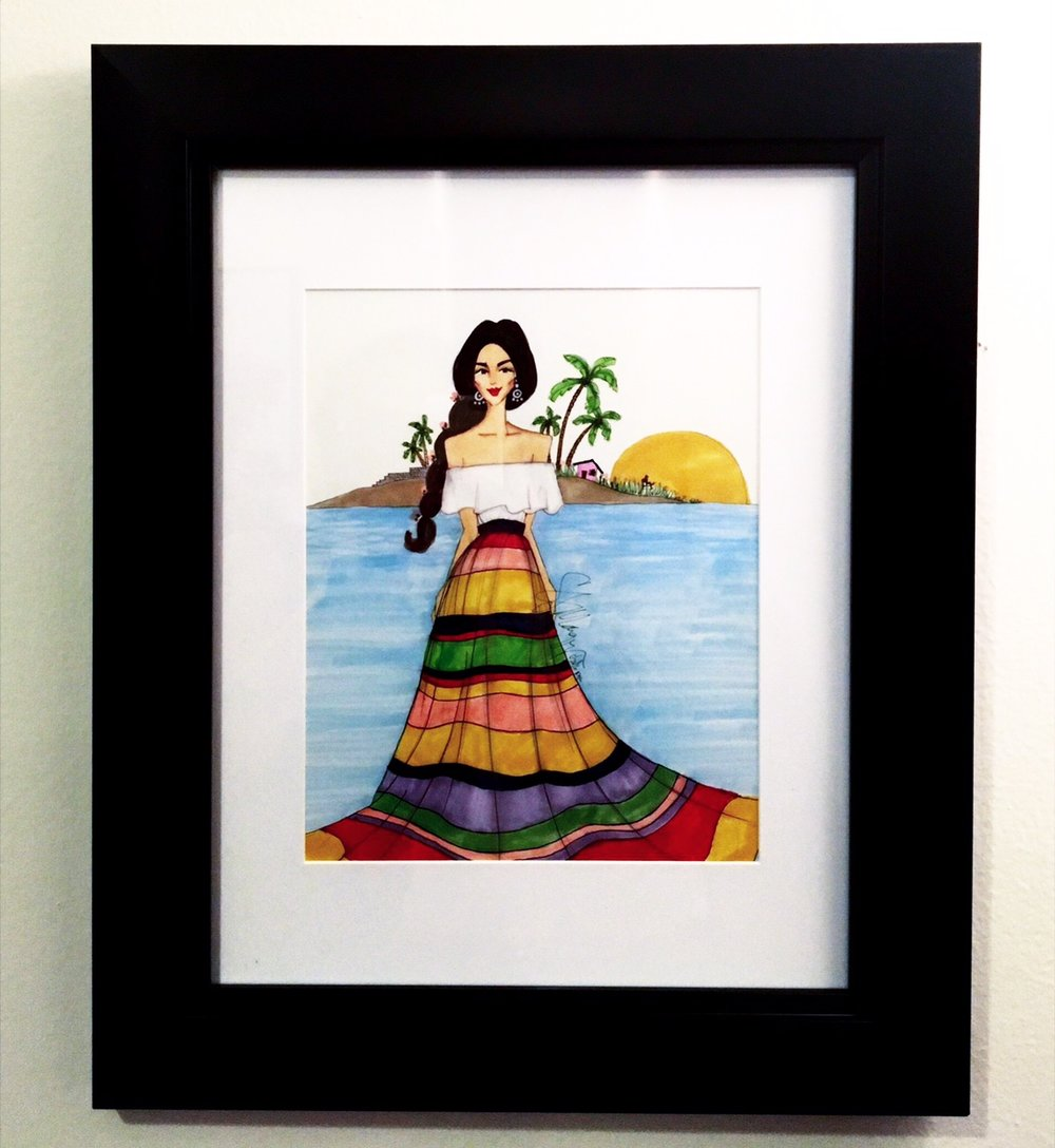 haute couture fine art show - This beauty came to life right after a trip to the magical Isla Mujeres in Mexico. She was first exhibited at the CHUCHU NY Haute Couture Fine Art Show, a collaboration between Set NYC and Freedom Ladder to help end child trafficking.