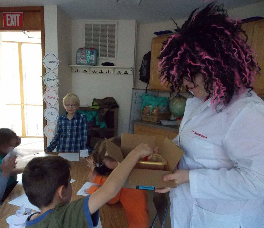 Dr. Bookenstein shares her sensory surprises.