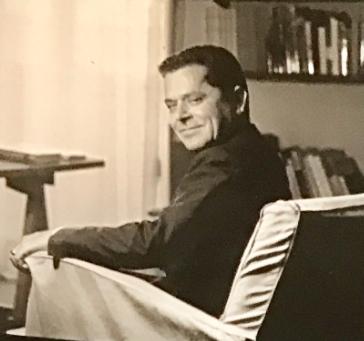 Michele Valori nella sua casa di Via Panama, Roma