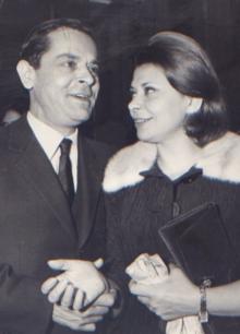 Michele Valori con la sorella Bice