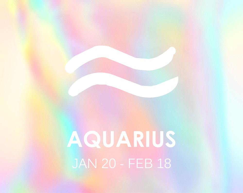 The GeniusJanuary 20th-February 18thModality: Fixed (Taurus, Leo, Scorpio + Aquarius)Element: Air (Gemini, Libra + Aquarius)Planetary Ruler: Uranus -