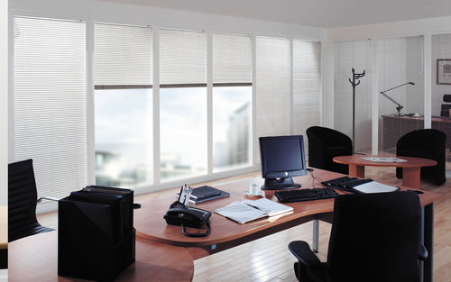 commercial blind cleaning, repair & installation — blue eyed blinds