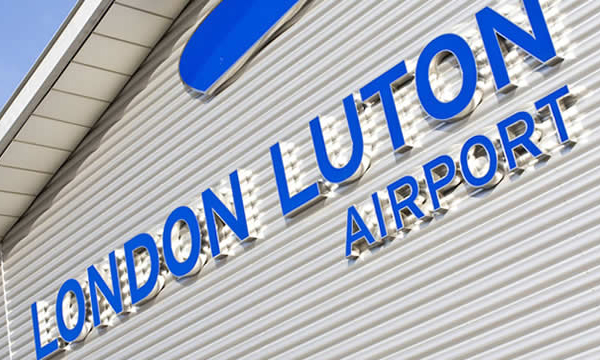 Luton Airport to The London Heliport