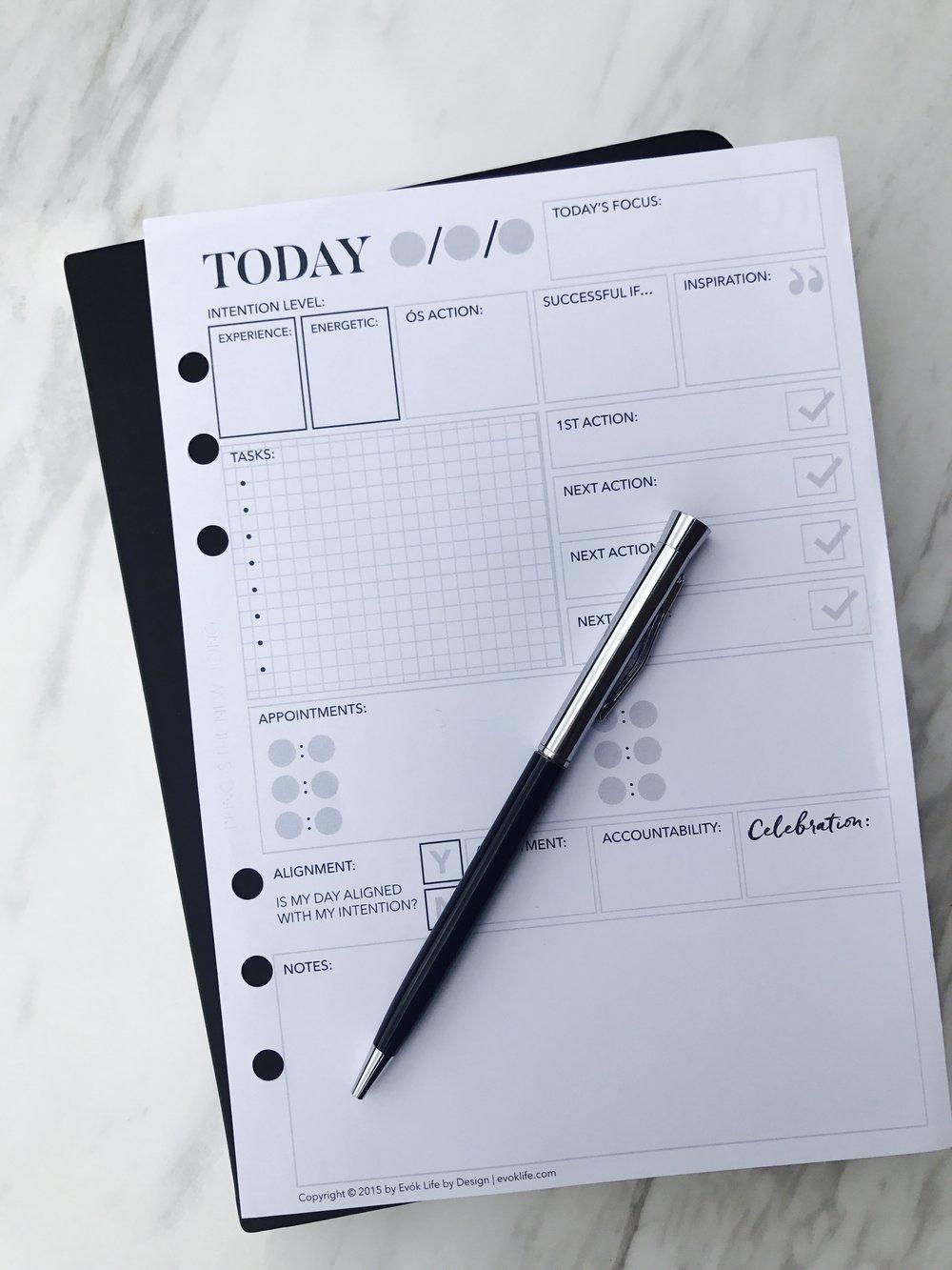 Weekly + Daily BEprint™ Planner Pack