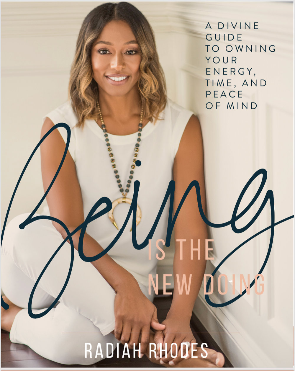 """BEING IS THE NEW DOING - Part memoir, part call-to-action and part inspiration, Rhodes, a well-being innovator, energy practitioner, and twenty year veteran of Fortune 100 corporate America, shares her personal journey toward well-being and outlines a simple and practical framework for how to become consciously aware of who you really are to create the life that's calling you. """"I spent years hoping, striving, and achieving without knowing why I was doing it,"""" Rhodes shares. """"I was unconsciously running from a past of struggle, believing it would be fixed by a future of accomplishments. When that didn't work I got stuck and the simple question""""Who are you?"""" set an answer in motion that changed everything."""""""