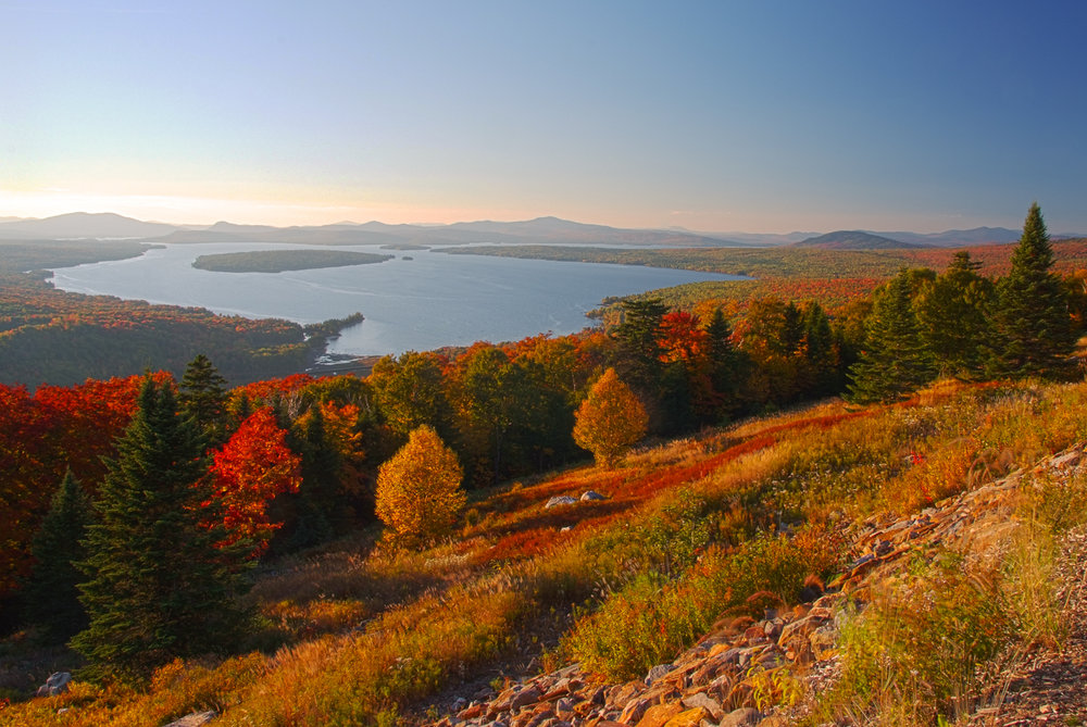 White Mountains and Western Maine -
