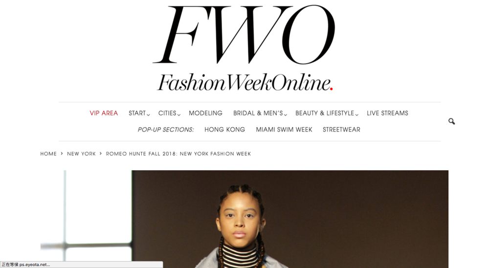 FALL 2018 by FWO