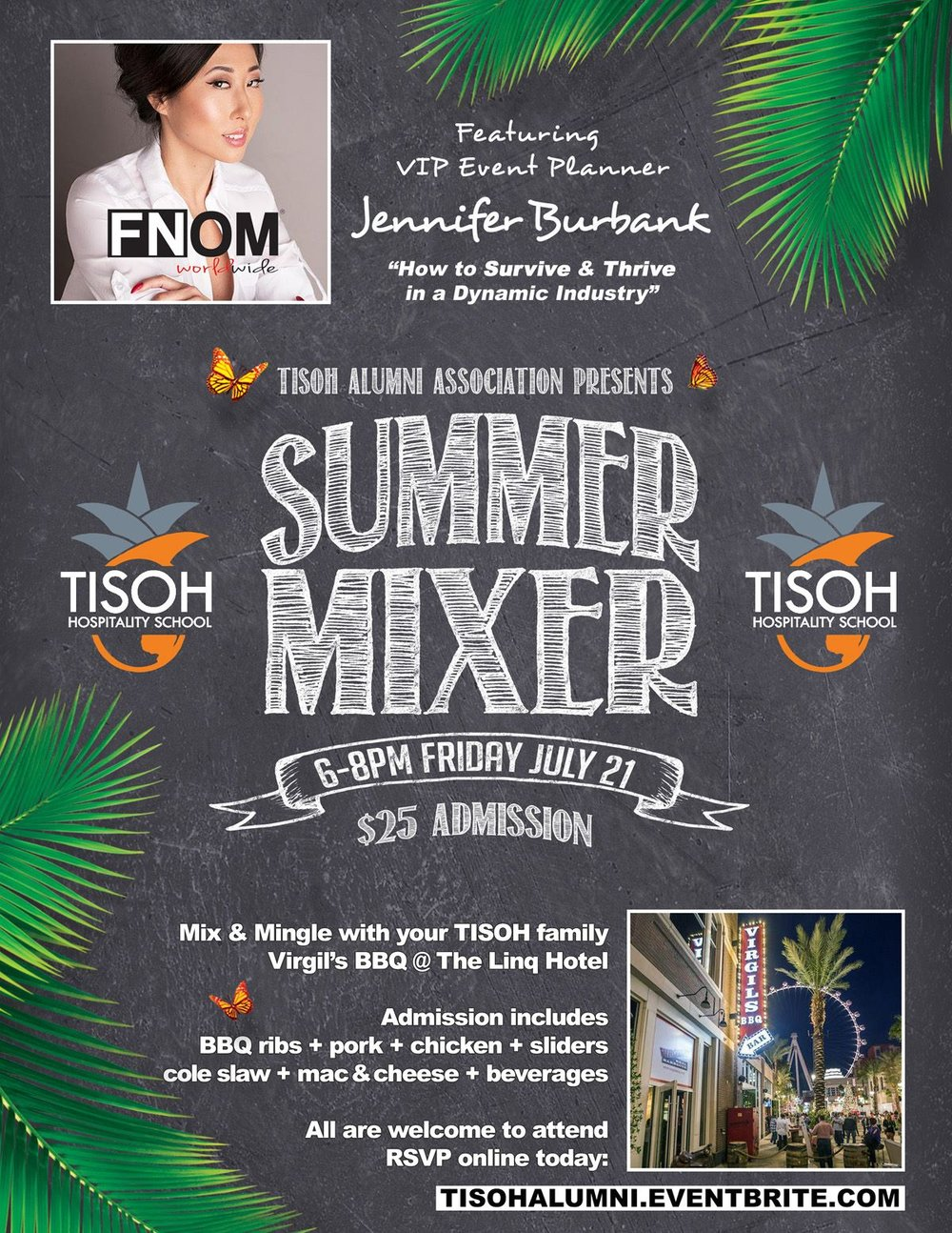 The International School of Hospitality Summer Alumni Association Mixer 2017