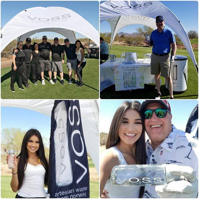 Western Refining #golftournament #scottsdale #arizona @vossworld @talkingstickgc #brandambassador #vosswater #fnomworldwide #golftourney