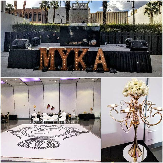 #sweet16 #birthdayparty #staging #lighting #florals #decor #fnomworldwide #eventplanning #lasvegaseventplanning