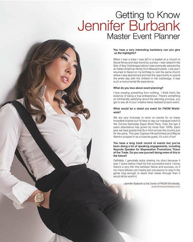 Vegas Top 100 Women of the Year @myvegasmagazine #jenniferburbank  #fnomworldwide #eventplanner #eventplanning #lasvegaseventplanning #mastereventplanner #entrepreneur