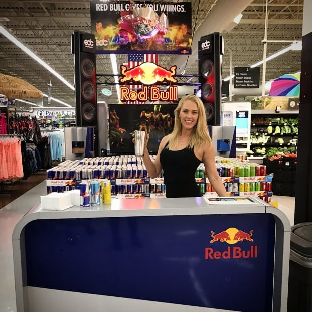 Power up with #complimentary #redbull #mocktails before you hit #edclasvegas today! Surprise pop up at #walmart 1807 W Craig Rd, North Las Vegas, NV 89032 #edclv2018  #edc2018 #redbullgivesyouwings #liquidenergy #fnomworldwide