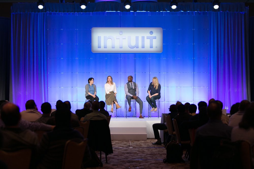 March 2017 - Dontay speaks on a panel at Intuit, focused on small business owners.