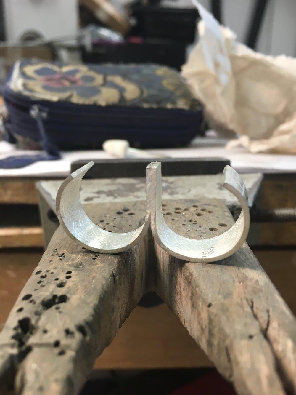 Soldered ring shank