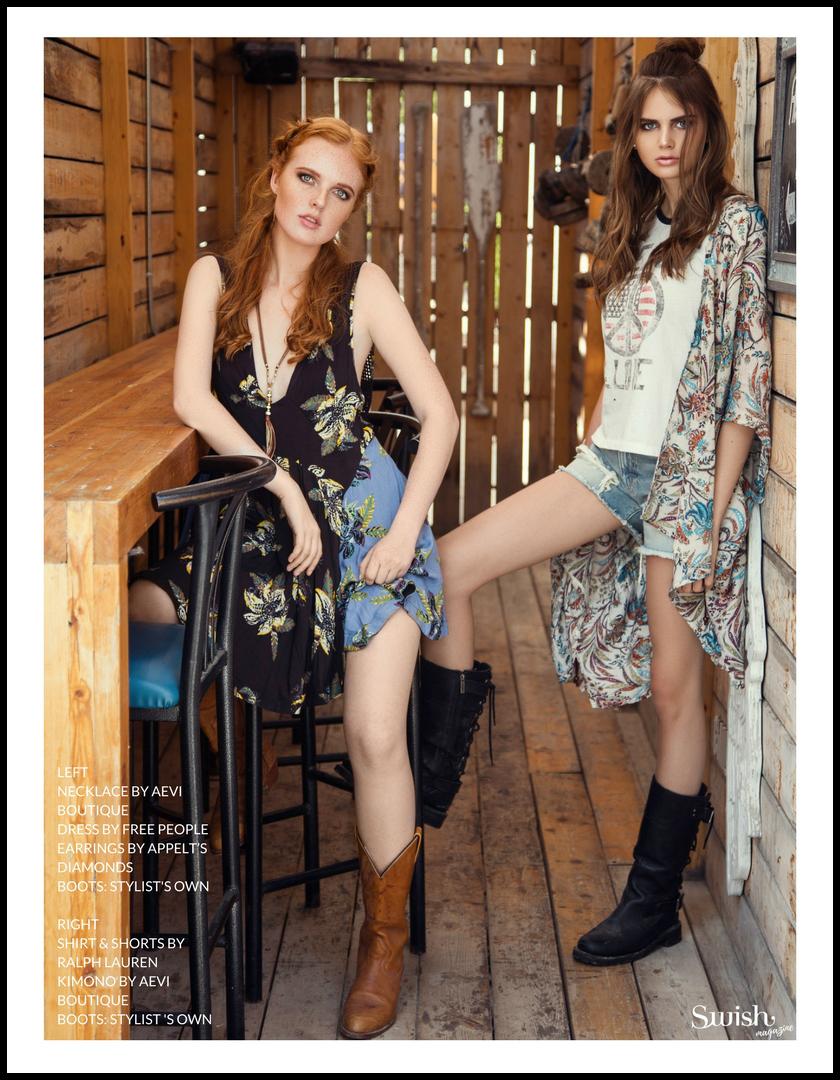 Aevi Boutique Necklace  |   Free People Dress |  Appelt's Diamonds Earrings   |   Ralph Lauren Shirt |   Ralph Lauren Shorts