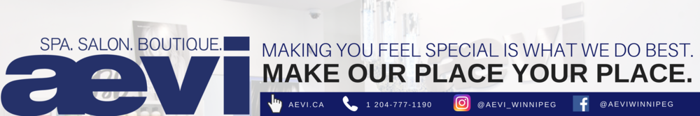 At Aevi, making you feel special is what we do best. Make our place your place. (1).png