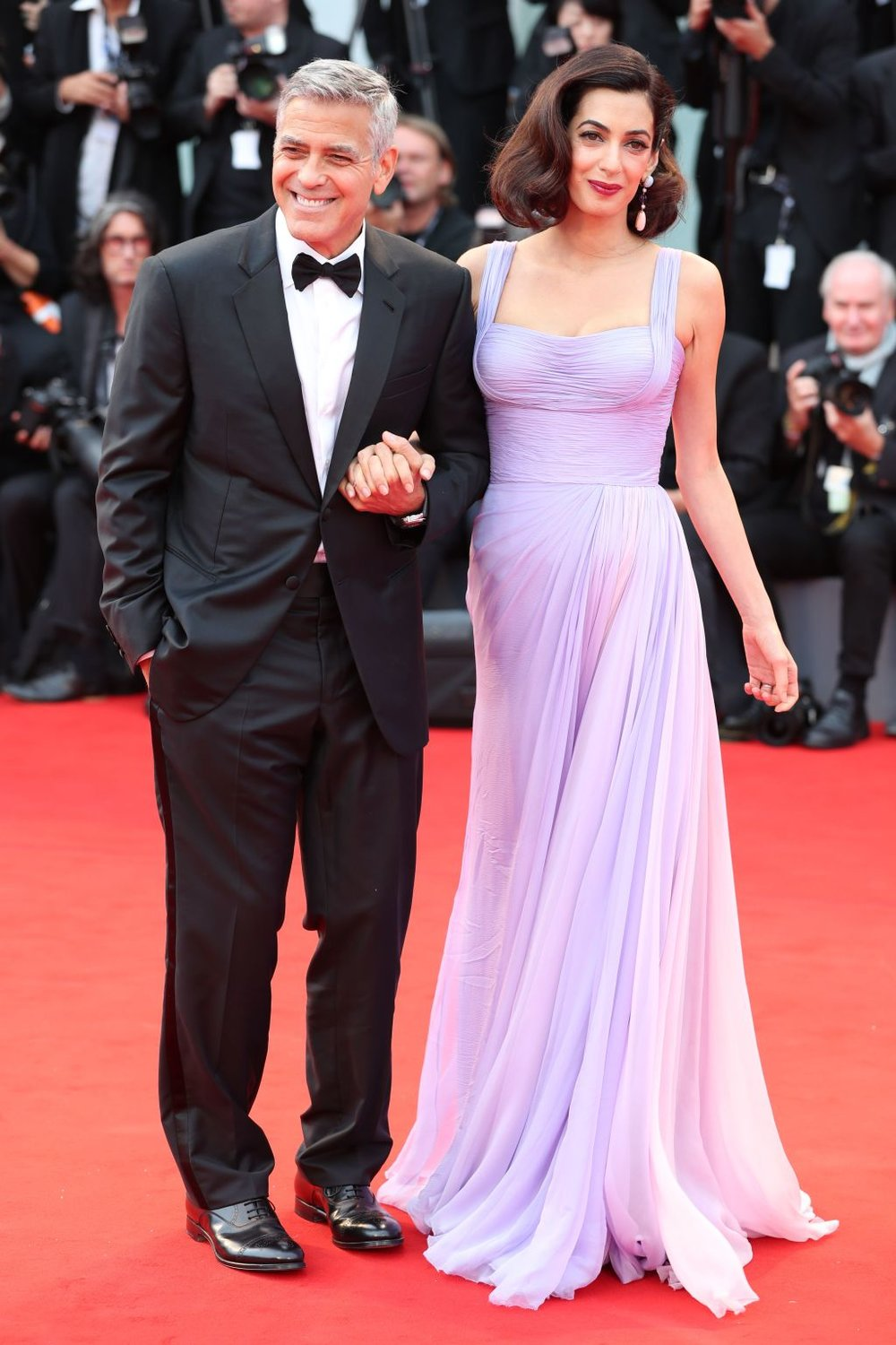 Day 4: George &Amal Clooney    Photo: Variety.com | REX/Shutterstock