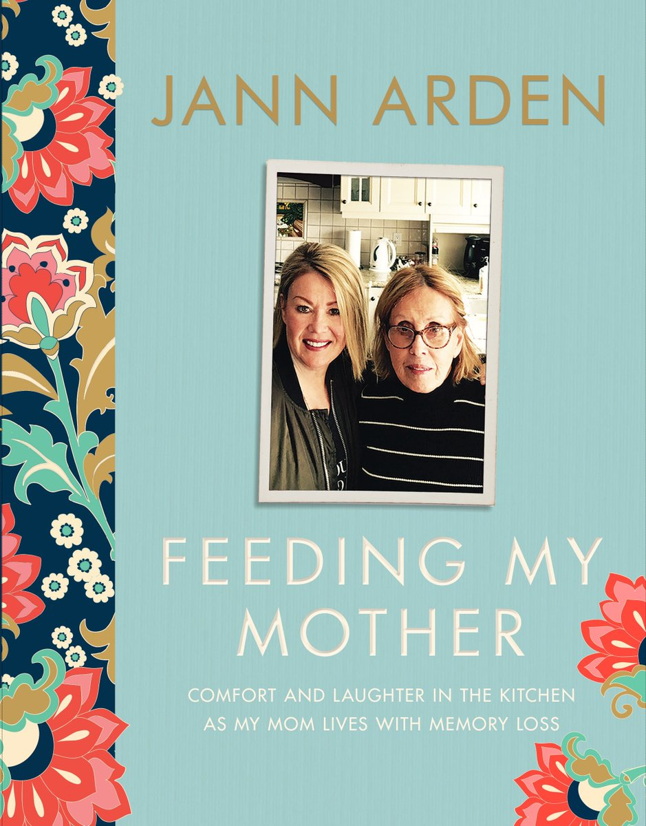 """FEEDING MY MOTHER"", PUBLISHED BY RANDOM HOUSE OF CANADA. BASED ON HER HUGELY POPULAR FACEBOOK AND INSTAGRAM POSTS ON CARING FOR HER MOTHER WITH ALZHEIMER'S"