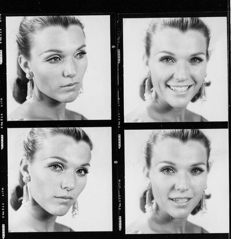Test shots of Maye Musk from the 1960s | Courtesy of Maye Musk via Harper's Bazaar