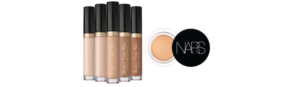 Too Faced Born This Way Naturally Radiant Concealer  |  Nars Soft Matte Complete Concealer