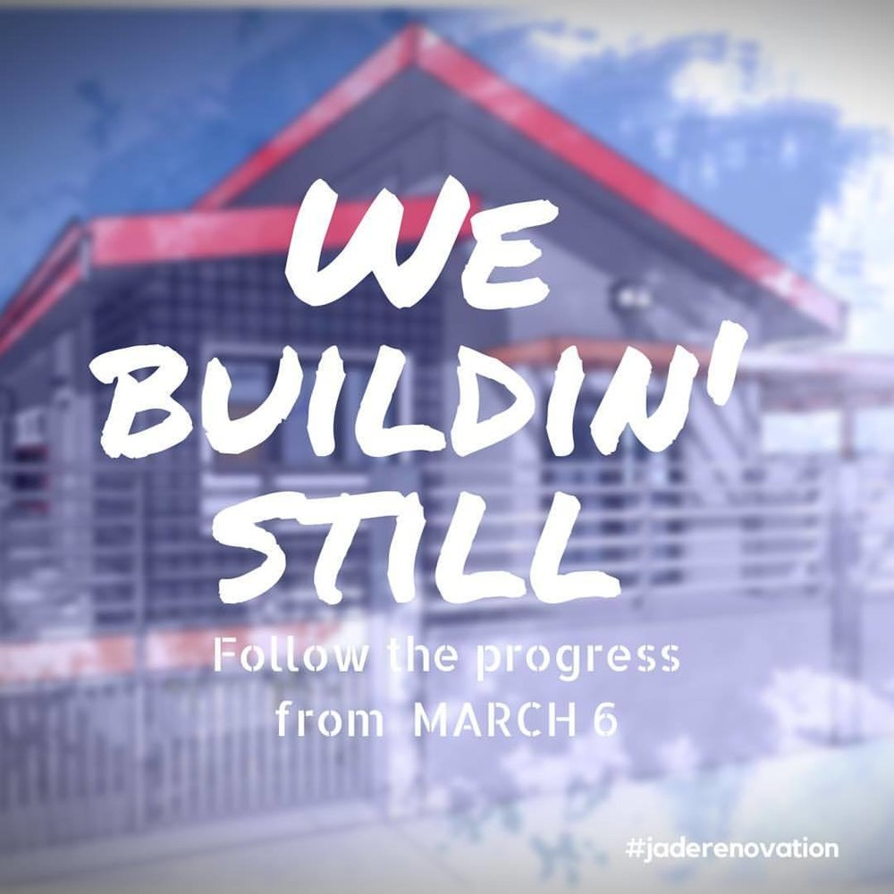 The project not finished… we buildin'still! Follow the progress with tips and things to look out from a pro vs. construction #provsconstruction #ajdesigned #jaderenovation