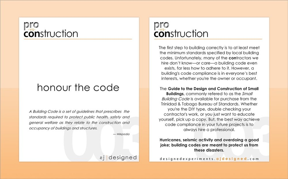 003 honour the code