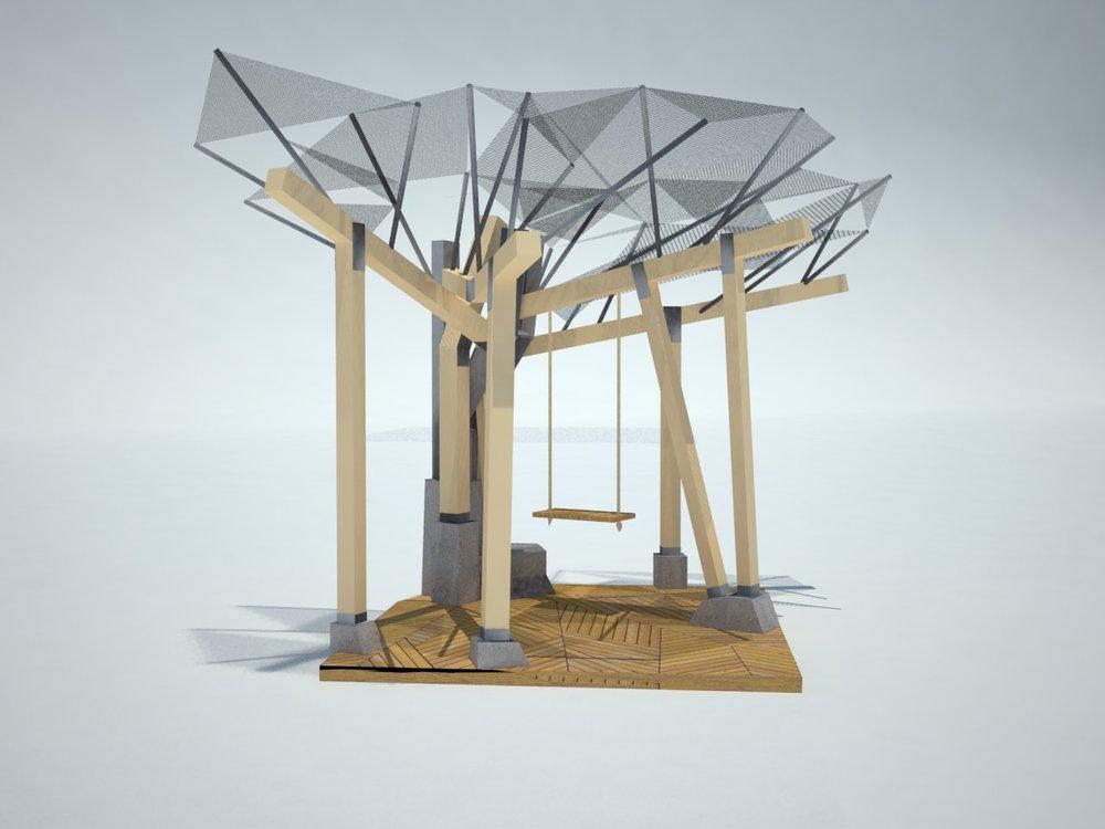 Banyan Pavilion - Concept Rendering