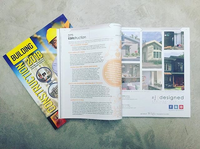 Be on the lookout for our latest Pro vs. Construction tips and two page spread in Help Me Construction 2018. Get a free copy of T&T premier, full colour construction directory today! #provsconstruction #ajdesigned #helpmeconstruction #construction @a.n._media_limited