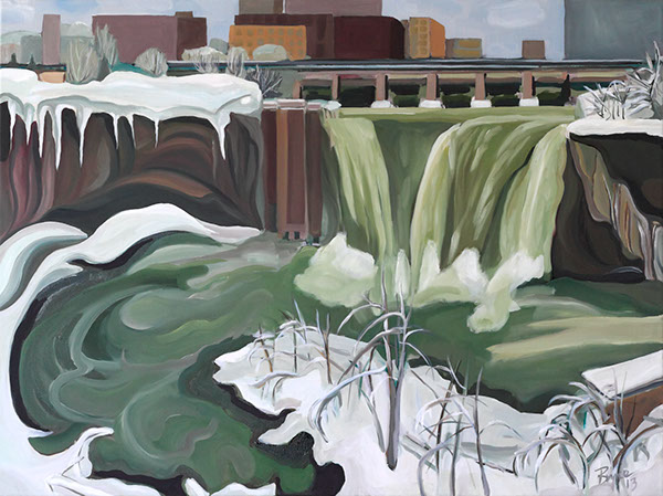 HIGH FALLS AFTER BLIZZARD, SOLD