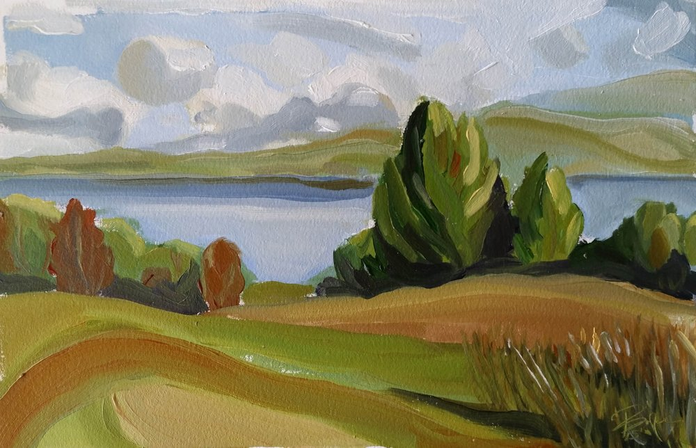 SENECA LAKE VIEW WITH SWOOP