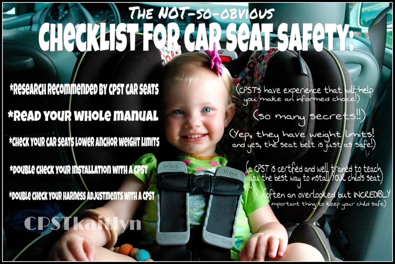 Car Seat Safety Check Gift Certificate Kaitlyn Silvestri Ellis